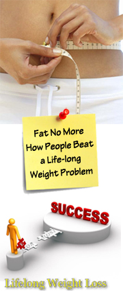 How people beat a lifelong weight problem